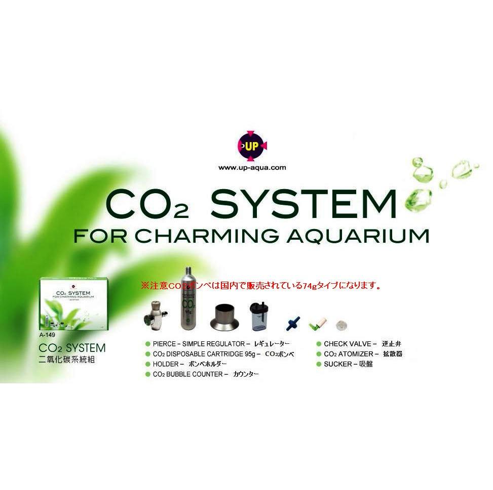 Vo 1ミニゲージ付CO2レギュレーターST CO2ボンベなしに変更