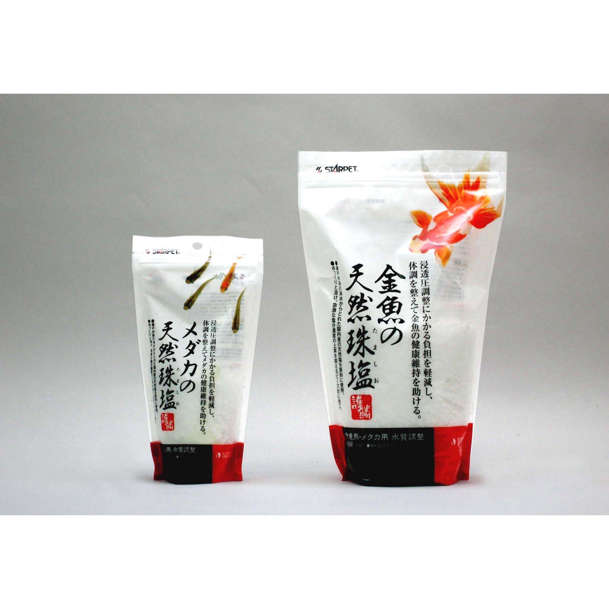 金魚の天然珠塩 (1kg)